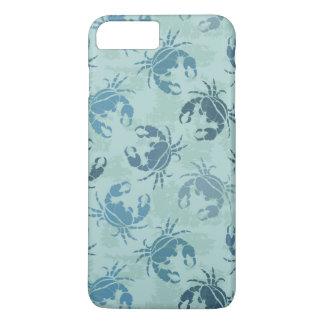Tie Dye Pattern Of Crabs iPhone 7 Plus Case
