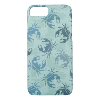 Tie Dye Pattern Of Crabs iPhone 8/7 Case