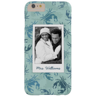 Tie Dye Pattern Of Crabs | Your Photo & Name Barely There iPhone 6 Plus Case