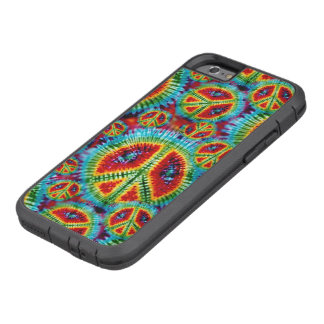Tie Dye Peace Signs Tough Xtreme iPhone 6 Case