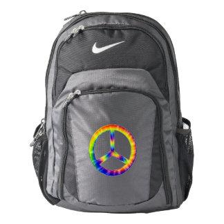Tie Dye Peace Symbol Nike Performance Backpack
