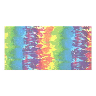 Tie-Dye Photo Cards