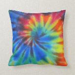 tie dye pillow throw cushions