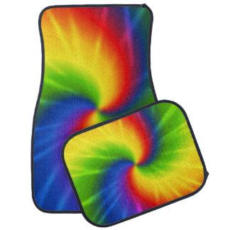 Tie Dye Rainbow Floor Mat