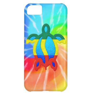 Tie Dye Rasta Honu Turtle iPhone 5C Case