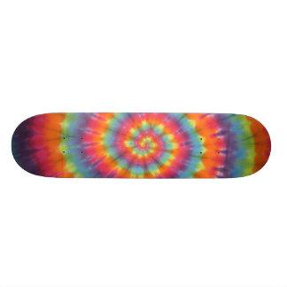 Tie Dye Skateboard Swirl