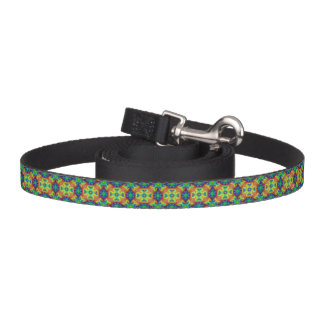 Tie Dye Sky Kaleidoscope    Dog Leash