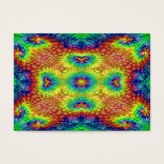 Tie Dye Sky  Pattern  Colorful Business Cards