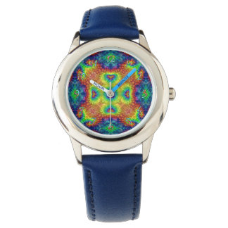 Tie Dye Sky Vintage Kids Watch