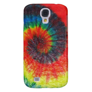 Tie-dye spiral galaxy s4 case