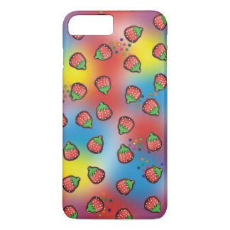 Tie Dye Strawberry Fields iPhone 7 Plus Case