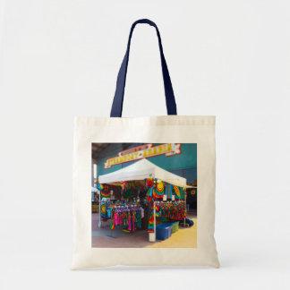Tie Dye Tent City Market Steamboat Arabia KC Budget Tote Bag
