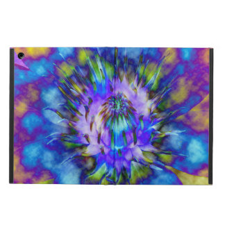 Tie Dye Water Lily Design iPad Air Case