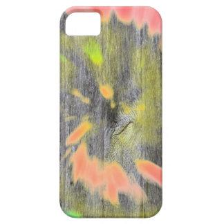 Tie dye watercolor paste hipster ikat pattern wood iPhone 5 case