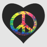 Tie Dyed Peace Stickers