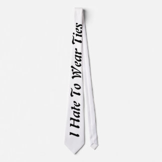 Tie Hater Tie