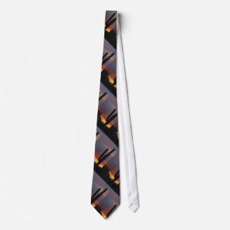 Tie, Saguaro Cactus, Southwest, Pattern Repeats Tie