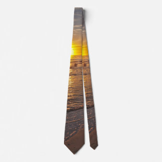 Tie: Sunset by the Beach Tie