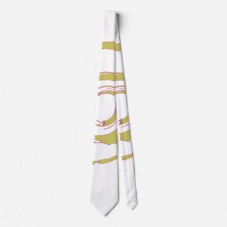 Tie with Big Yellow Twirl