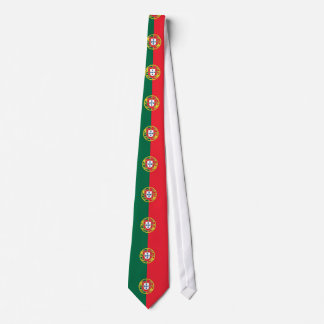 Tie with Flag of Portugal