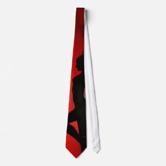Tie - woman silhouette