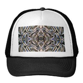 Tied in Knots Kaleidoscope Abstract Fractal Art Cap