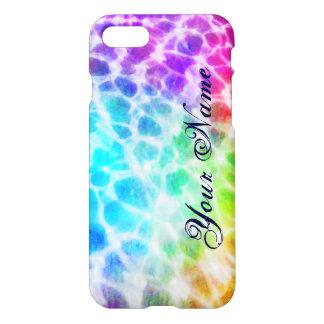 Tiedye Hippie Wavy Rainbow Effect Personalized iPhone 7 Case