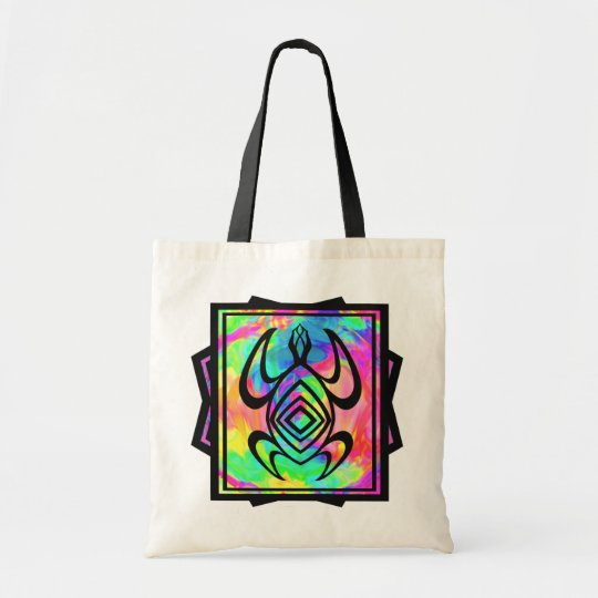 Tiedye Turtle Symmetry Bags