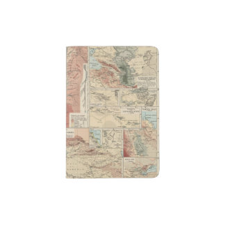Tieflander Atlas Map Passport Holder