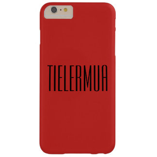 TIELERMUA Iconic: Blood Lust I Barely There iPhone 6 Plus Case