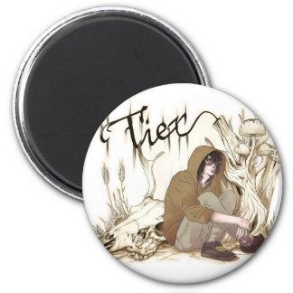Tier 6 Cm Round Magnet