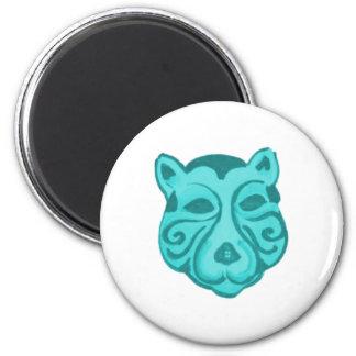 Tier Maske animal mask Kühlschrankmagnete