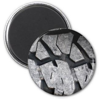Tier Tracks 6 Cm Round Magnet