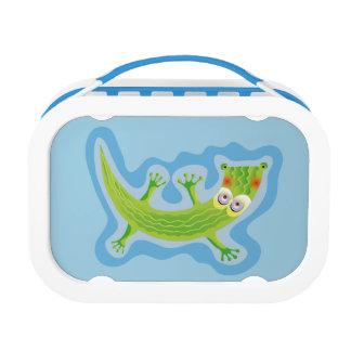 Tierno cocodrilo lunch boxes