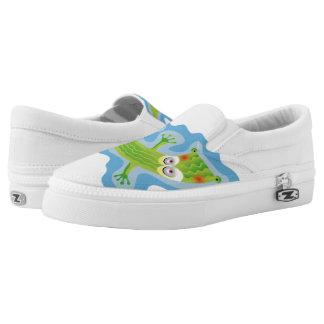Tierno cocodrilo printed shoes