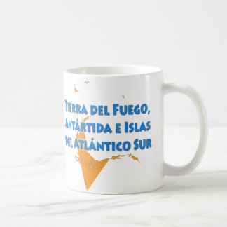 Tierra del Fuego Basic White Mug