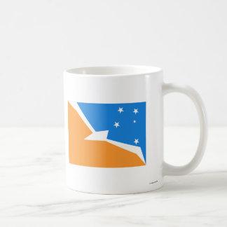 Tierra del Fuego flag Basic White Mug