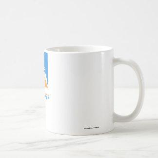 Tierra del Fuego flag with name Basic White Mug