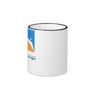 Tierra del Fuego flag with name Ringer Mug