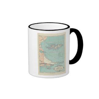 Tierra del Fuego, Islas Malvinas, Argentina Ringer Mug