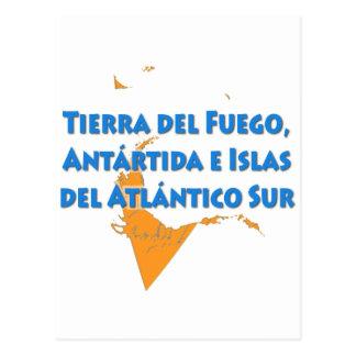 Tierra del Fuego Postcard