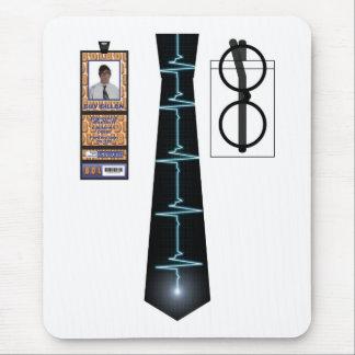 TieShirt005 - EKG copy Mouse Pad