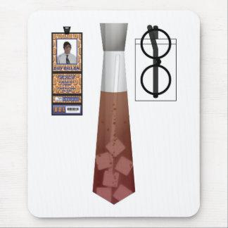 TieShirt018- Cola copy Mouse Pad