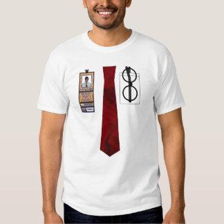 TieShirt030- Red Satin copy Tee Shirt
