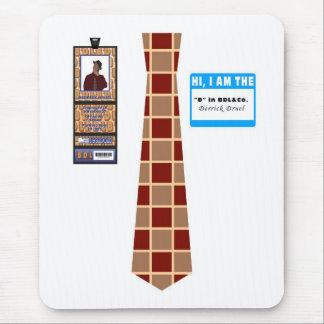 TieShirt031- Derrick Druel copy Mouse Pad