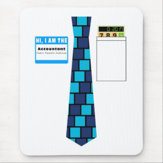 TieShirt034- Accountant copy Mouse Pad