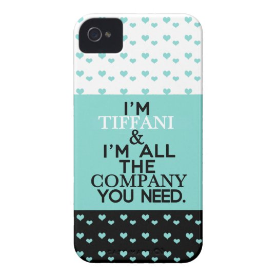Tiffan(i) No Company Case-Mate iPhone 4 Case