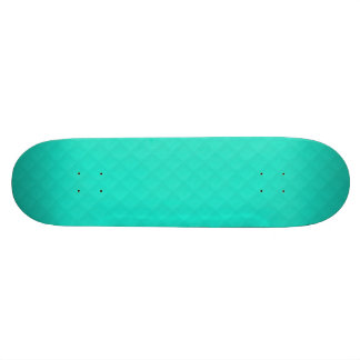 Tiffany Aqua Blue Quilted Pattern Skate Boards