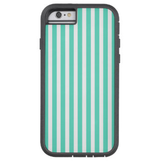 Tiffany Aqua Blue Sailor Stripes Tough Xtreme iPhone 6 Case