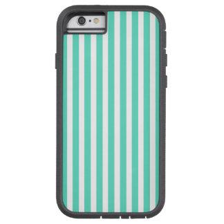 Tiffany Aqua Blue Sailor Stripes Tough Xtreme iPhone 6 Case